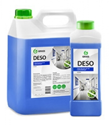 Средство для мойки и дезинфекции различных поверхностей Deso C 10, 1 л.