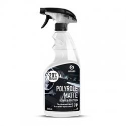 """Полироль-очиститель пластика матовый """"Polyrole Matte"""" виноград (флакон 600 мл)"""