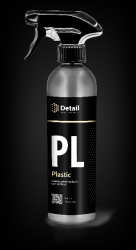 PLASTIC (PL), полироль пластика, спрей 500 мл