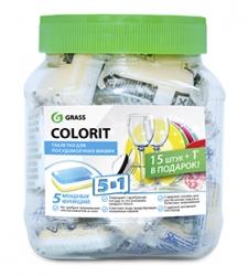 """Таблетки для посудомоечной машины """"Colorit"""" mini (упак. 16шт)"""