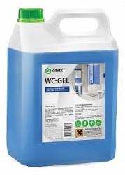 """Средство для чистки сантехники """"WC- GEL"""", 5,3 кг."""