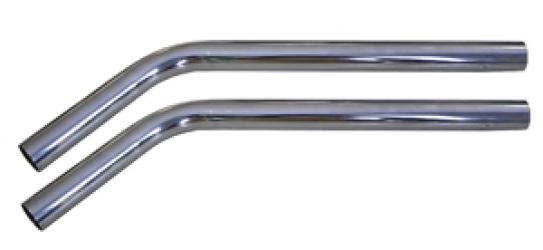 Трубка хромированная загнутая 1036