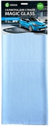 Салфетка из микрофибры для стекол GRASS Magic Glass 1шт НОВИНКА, Размер 40*50см