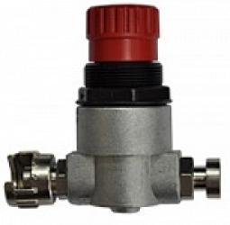 Регулятор давления воздуха 0-8 бар с двумя соединителями, Выход 1/4П