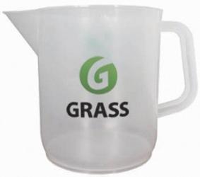 Кружка мерная с логотипом GRASS