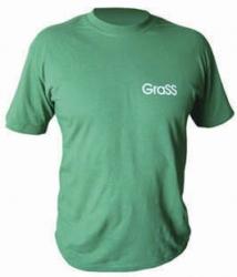 Футболка зеленая с логотипом, 2XL