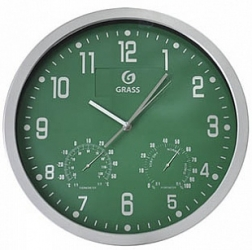 Часы с логотипом GraSS (зеленые)