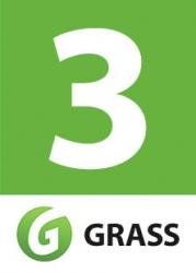 "Наклейка для бокса ""3 GRASS"""