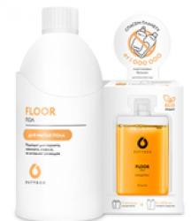 Сет  - Средство для мытья пола DUTYBOX (Бутылка для разведения +2 капсулы)