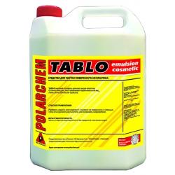 Tablo 4 tablo матовый полироль для всех видов пластика и кожи 4л.